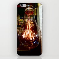 LIGHTbulb iPhone & iPod Skin