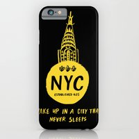 nyc iPhone & iPod Cases featuring NYC by Kathryn Nyquist