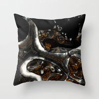 nothing of interest 24 Throw Pillow