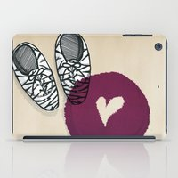 Zebra shoes iPad Case