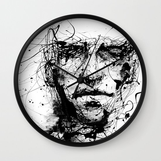 lines hold the memories Wall Clock