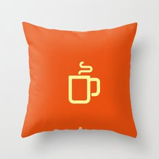 Coffee: The Drink Throw Pillow
