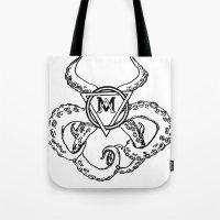 monsters logo Tote Bag