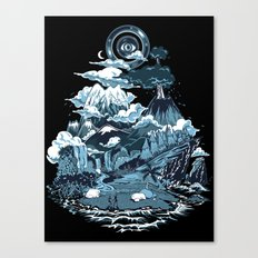 Terra Mikronic Canvas Print