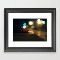 Converse All Star Night … Framed Art Print