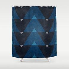 Greece Arrow Hues Shower Curtain