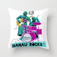 Hanau Rocks Throw Pillow