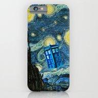 Flying Tardis Doctor Who… iPhone 6 Slim Case