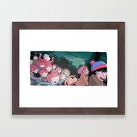 Night Of The Living Ging… Framed Art Print