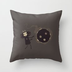 Katamari of the Dead Throw Pillow