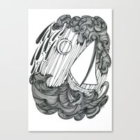 Leviathan and Lonely Canvas Print