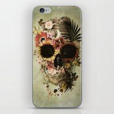 Garden Skull Light iPhone & iPod Skin