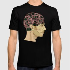 PHRENOLOGY SMALL Mens Fitted Tee Black
