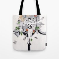 The Pitch | Collage Tote Bag