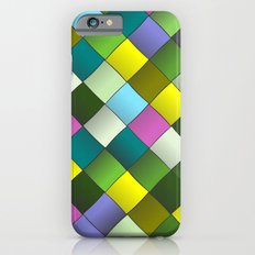 Mosaic Woven Colorful Pattern Slim Case iPhone 6s