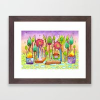 Dream Garden 2 Framed Art Print