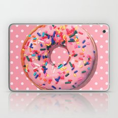 Pink Donut Laptop & iPad Skin