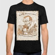 Autoportrait Mens Fitted Tee Tri-Black SMALL