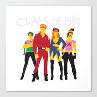 Class Of 1984 Canvas Print