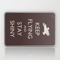 Keep Flying And Stay Shi… Laptop & iPad Skin