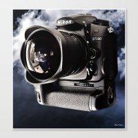 Nikon D7000 Canvas Print