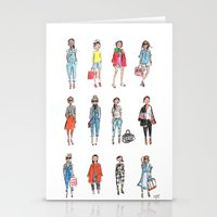 Favorite Sketches Stationery Cards