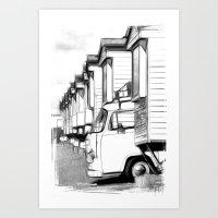 Volkswagen Van Art Print