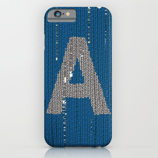 Winter clothes. Letter A. iPhone & iPod Case