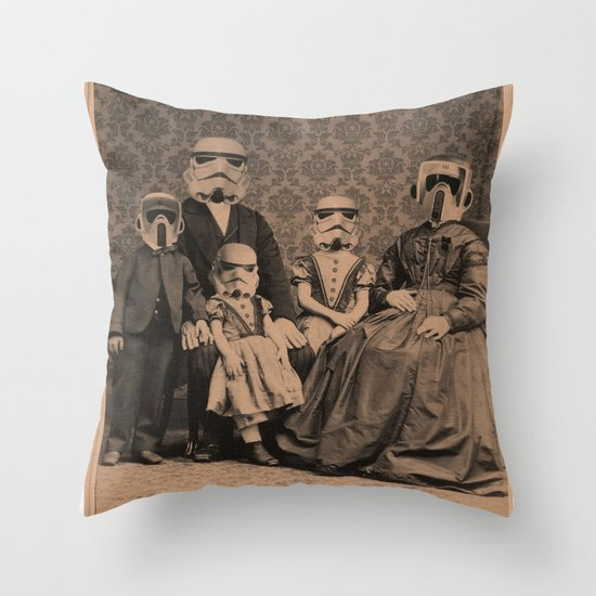 Meet the Troopers Throw Pillow