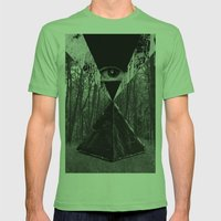 From The Eye Mens Fitted Tee Grass SMALL
