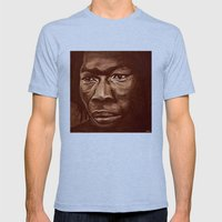 the roots part2 Mens Fitted Tee Tri-Blue SMALL
