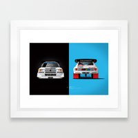 Group B Edition, N.º1, … Framed Art Print