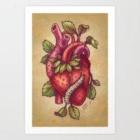 Organ-ic Art Print