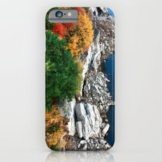 Hanging over the Cliff iPhone 6 Slim Case