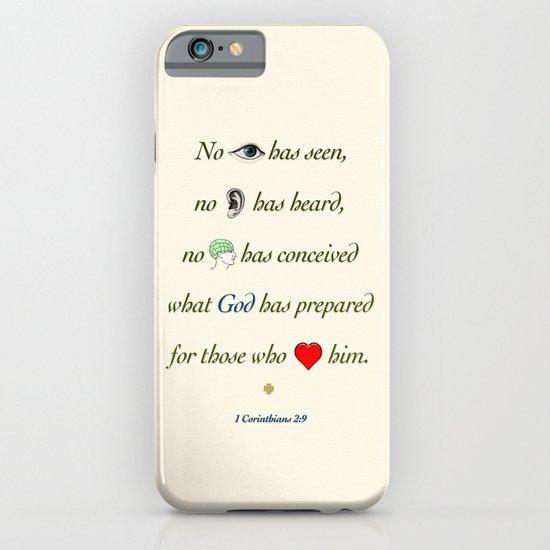 No Eye Has Seen iPhone & iPod Case