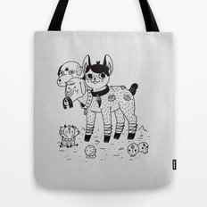 Beelzebub's Best Friends Tote Bag