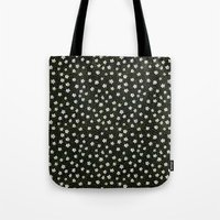 White Spring Flowers Tote Bag
