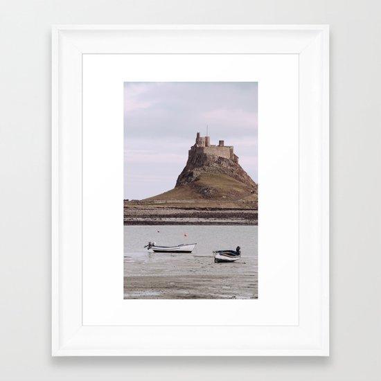 castles made of sand... Framed Art Print