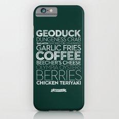 Seattle — Delicious City Prints iPhone 6s Slim Case