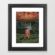 Maybe Or Maybe Not Framed Art Print