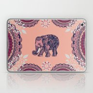 Bohemian Elephant  Laptop & iPad Skin