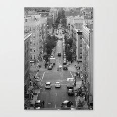 Mi Barrio, Es Su Barrio Canvas Print