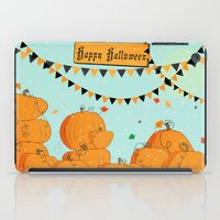 Halloween Pumpkins iPad Case
