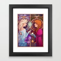Let Me In Framed Art Print