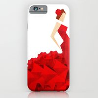 iPhone & iPod Case featuring The Dancer (Flamenco) by VessDSign