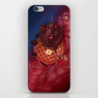 Tac Nayn a.k.a. Waffle Cat iPhone & iPod Skin