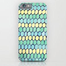 Watercolour Honeycomb Tank Top Slim Case iPhone 6s