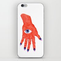All-Seeing Nails iPhone & iPod Skin
