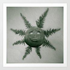 Feather Rays Art Print