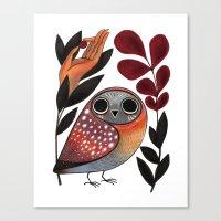 Ground Owl Canvas Print